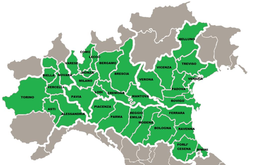 Province Nord Italia Cartina.E Commerce Focovivo Vendita Legna Da Ardere A Modena Vendita Pellet A Modena Focovivo It